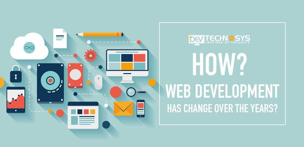 Web development changes