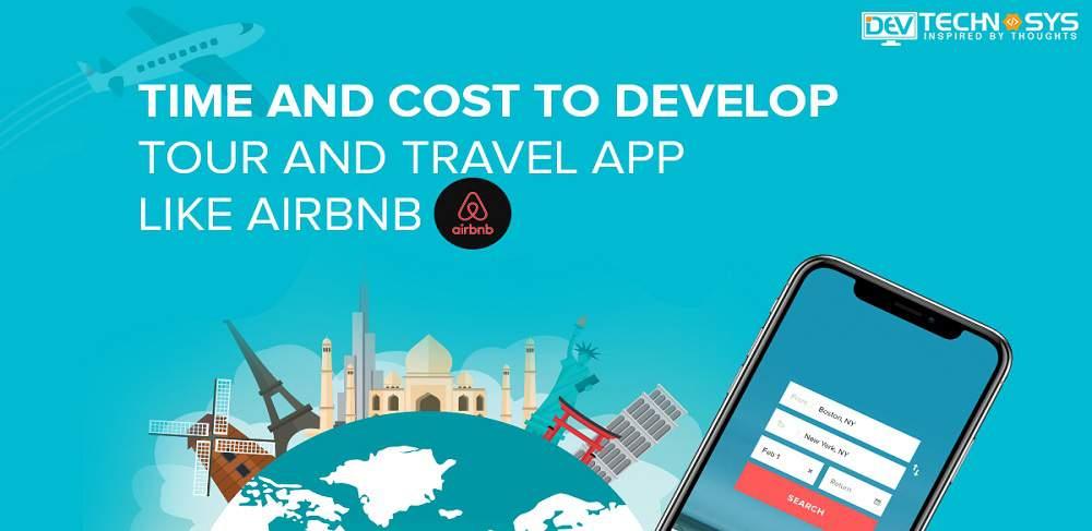 Travel app development cost