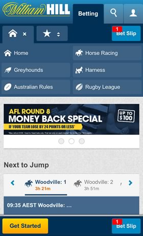 William Hill bets