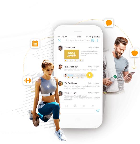 fitness trainer app