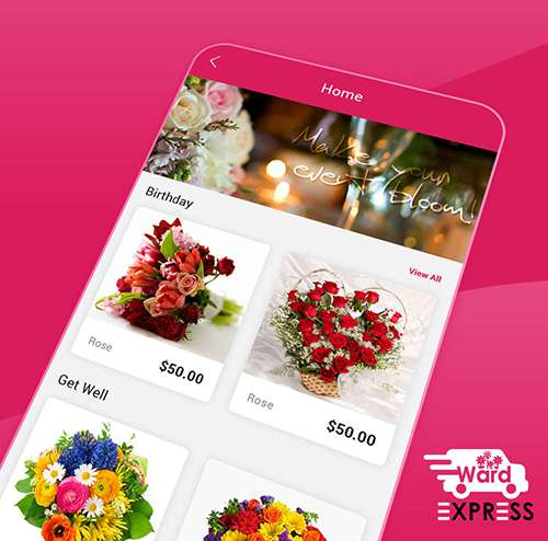 Flower Delivery Applictation