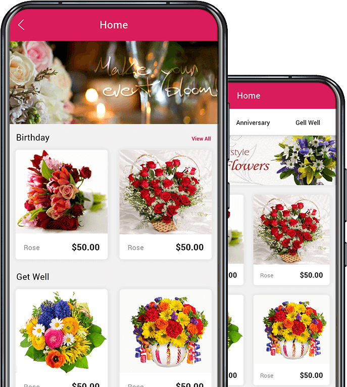 WardExpress flower delivery app image