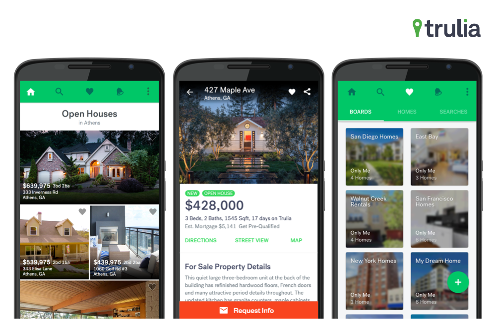 Trulia- Real Estate App