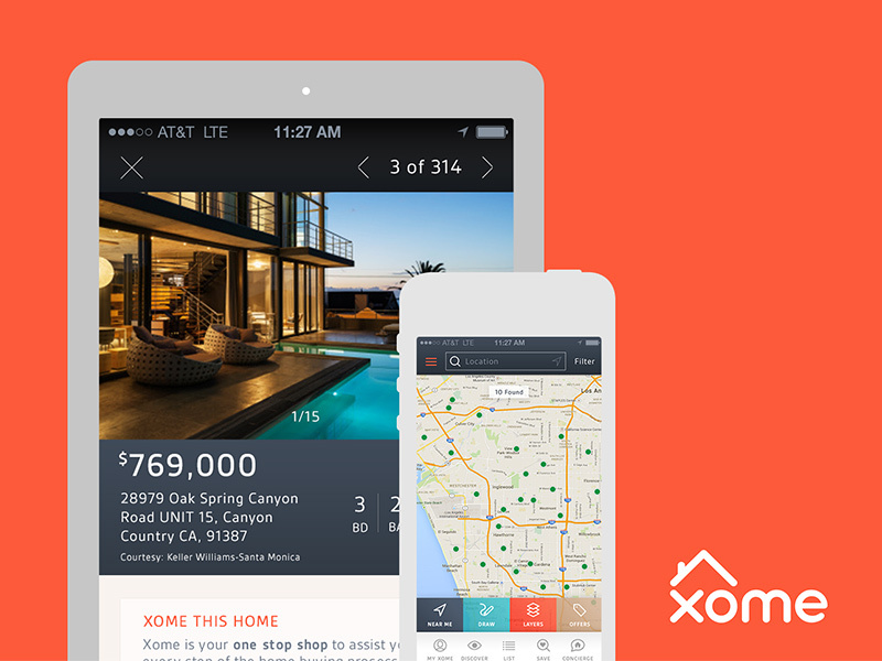 Xome- Real Estate App