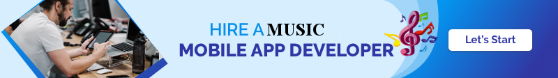 Hire Music App Developer