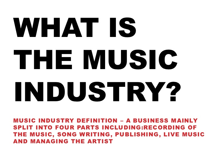 what is music industry