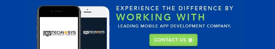 mobile application cta