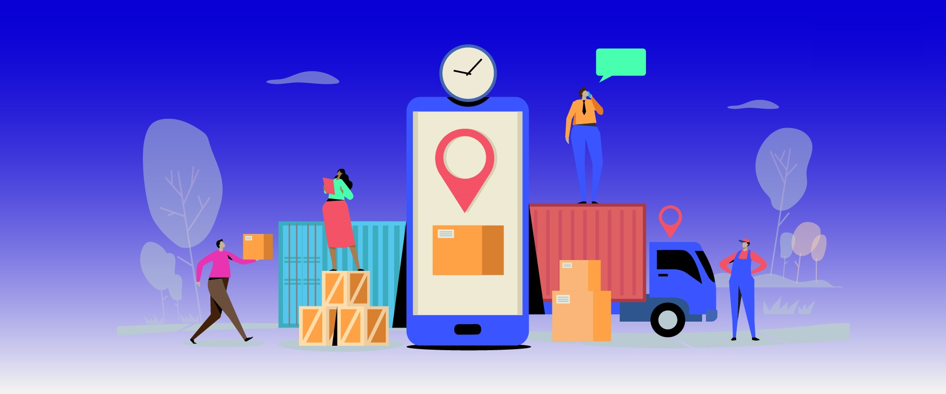 need to consider before courier or Logistic app development